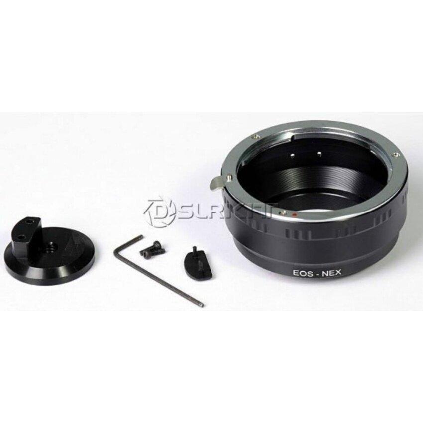 Adaptor Lensa Cincin dengan Tripod 1/4 Mount untuk Canon Lensa EOS Andsony NEX E Mount EF S NEX 7 5 3- intl-Intl