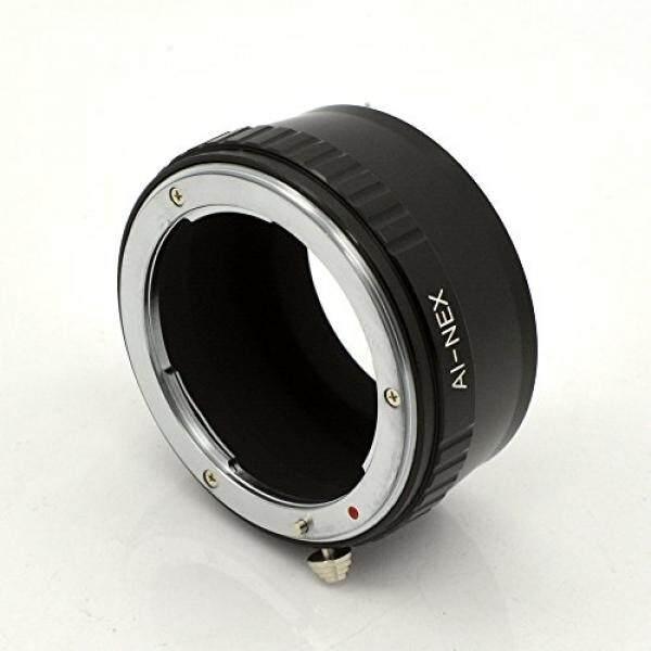 Lensa Penyambung Adaptor untuk Nikon Ai Mount Lensa untuk Sony E-Mount Kamera NEX Seperti NEX-3, NEX-5, NEX-5N, NEX-7, NEX-7N, NEX-C3, NEX-F3, A6300, A6000, A5000, A3500, A3000, NEX-VG10, VG20 dengan IFANCY-TECH-Intl