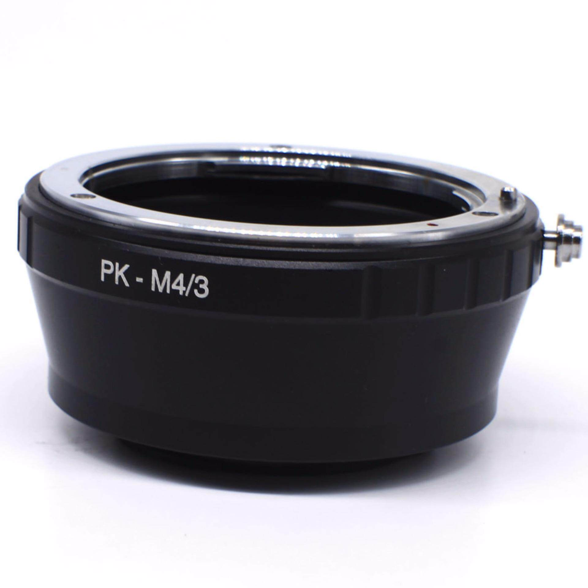 Lensa Dudukan Adaptor Lingkaran Paduan Bahan Aluminium untuk PK-M4/3 Lensa Adaptor Dudukan Lingkaran Kamera Adaptor untuk E-P1L EP-2 untuk G1 GH1 GF1 G2 G10-Internasional