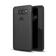 Lenuo Anti-Burst Dermatoglyph cell phone Protective shell silicone soft cover case for LG V30