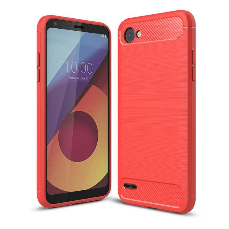 ... ZZOOI Lenuo Carbon Fiber Silicone Brushed Anti knock cell phone Back Cover TPU Soft Case