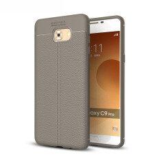 Lenuo Ledakan-bukti Dermatoglyph Silikon Cangkang TPU Lembut Sarung Ponsel untuk Samsung Galaksi C9 Pro
