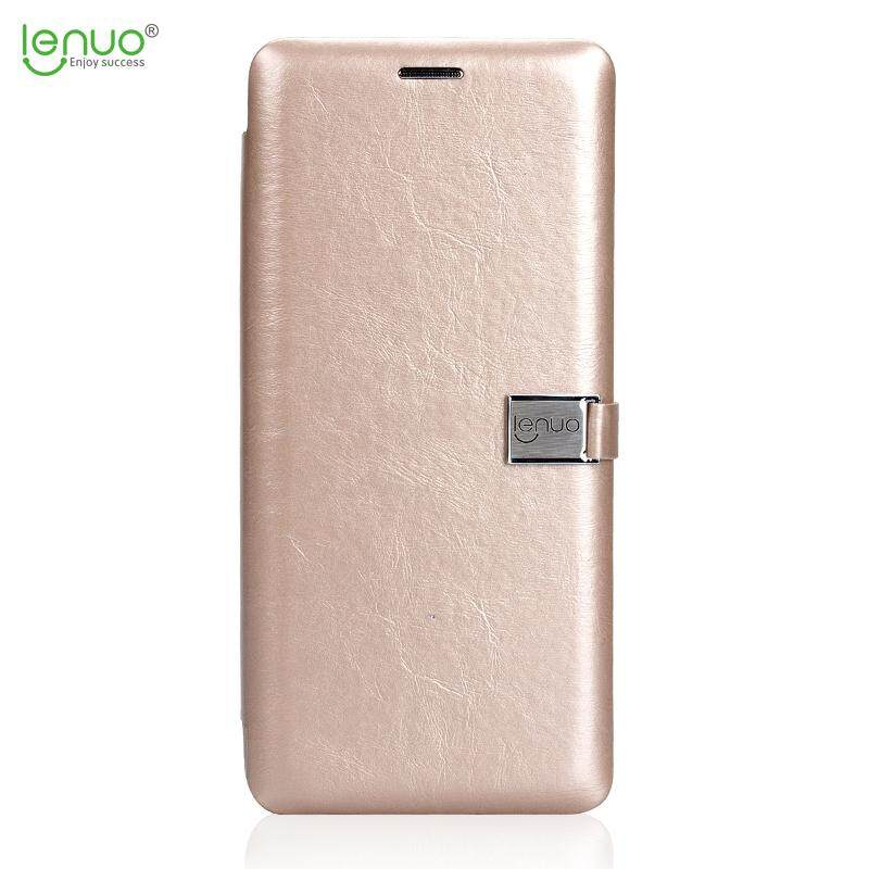 Lenuo Flip Cover For Xiaomi Redmi Note 4x Leather Case Fashion Soft