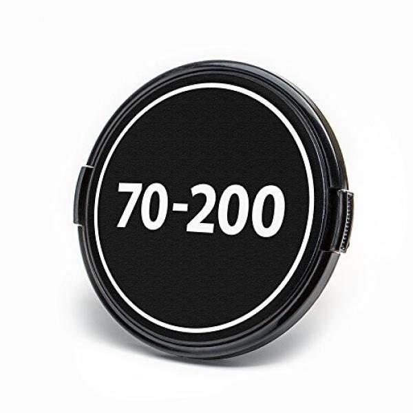 Lenzbuddy Lensa Depan Lapisan PENUTUP UNTUK Kamera Nikon dengan Panjang Fokus Identifier (70-200 (Sesuai 77 Saringan Mm Thread)) -Intl
