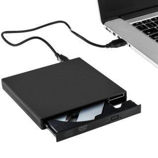 LETSBAY External DVD Burner CD, DVD Recorder recorder compatible with Apple Mac OS MacBook, MacBook Pro, MacBook Air, Windows 2000 ME XP Vista Windows7 and other laptop desktop thumbnail