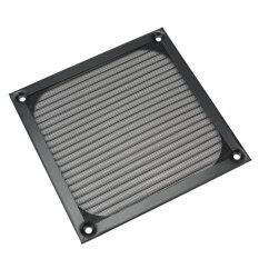 Lgpenny Computer Fan Cooling Dustproof Dust Filter Case Black Wire Grill Guard 12X12cm Malaysia