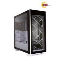 Lian Li Alpha 330 Fully Tempered Glass Mid Chassis - White Malaysia