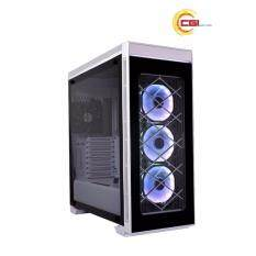 Lian Li Alpha 550 RGB Fully Tempered Glass Mid Chassis - White Malaysia