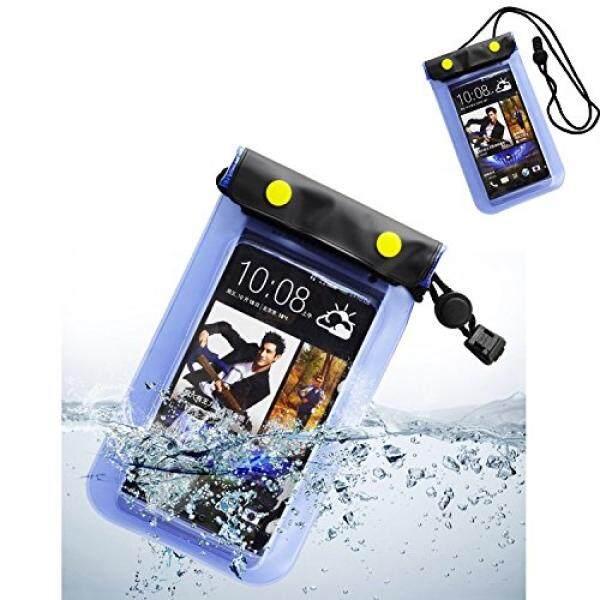 Ringan Tahan Air Case Cellphone Cover Tas Kering untuk Nokia 3/Samsung Galaxy C5 Pro/Xcover 4/S8/J3 muncul/A3/A5/J2 Perdana/J5 Perdana/On5 Pro/J2/On5/J3 v/C5 (Biru) -Intl