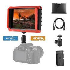 LILLIPUT A7s 7inch 1920 * 1200 FHD IPS Screen Camera Field Monitor Display with HD IN OUT Support 4K Signal 1000:1 High Contrast 500cd/m2 Brightness Silicon Cover for Canon Nikon Sony Panasonic DSLR Malaysia