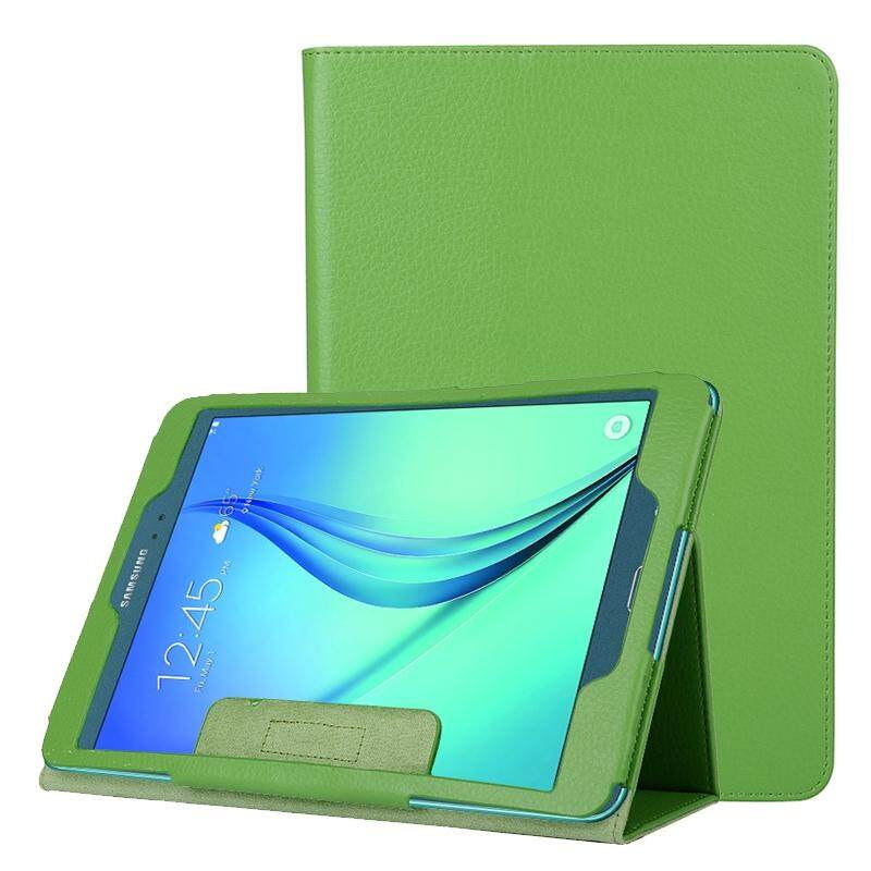 Litchi Texture Horizontal Flip Solid Color Leather Case With Two Folding Holder For Samsung Galaxy Tab A 8 T350 Green Intl Deal