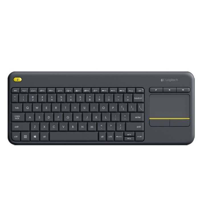 logitech k400 plus wireless keyboard k400plus bk lazada. Black Bedroom Furniture Sets. Home Design Ideas