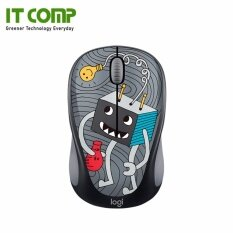 Logitech M238 Doodle Collection Wireless Mouse - Lightbulb Malaysia