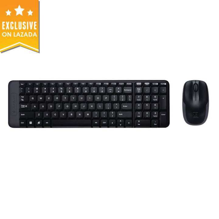 logitech mk215 usb wireless keyboard mouse combo lazada. Black Bedroom Furniture Sets. Home Design Ideas