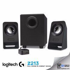 LOGITECH Z213 2.1CHL Multimedia Speaker + Subwoofer + Volume Control Malaysia
