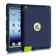 Lux Fashion Robot Shockproof Silicone Cover for Apple iPad 4