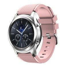 Luxury Silicone Replacement Band Bracelet Strap For Samsung Gear S3 Classic #17