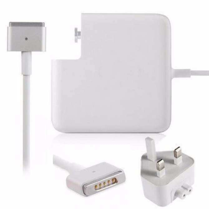 MacBook Pro Retina 13 inch 60W MagSafe2 T shape Power Adapter Charger A1435 A1502 UK plug