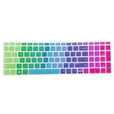 MagiDeal Silicone Desktop Keyboard Skin Cover For HP 15.6 Inch BF Laptop Rainbow Malaysia