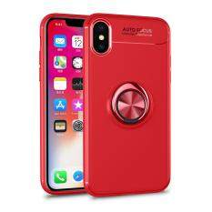 2da793b02 Magnetic Ring Holder Phone Case For iPhone X Anti Fingerprint Full  Protection Fashion Soft Silicone TPU
