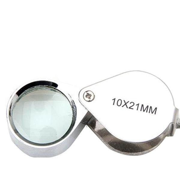 Magnifier Magnifying Glass 10 x 21mm Jewelers Eye Loupe Loop New - intl