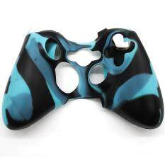 Makiyo Silicon Protective Skin Case Cover For Xbox 360 Game Controller (blue And Black) By Makiyo.