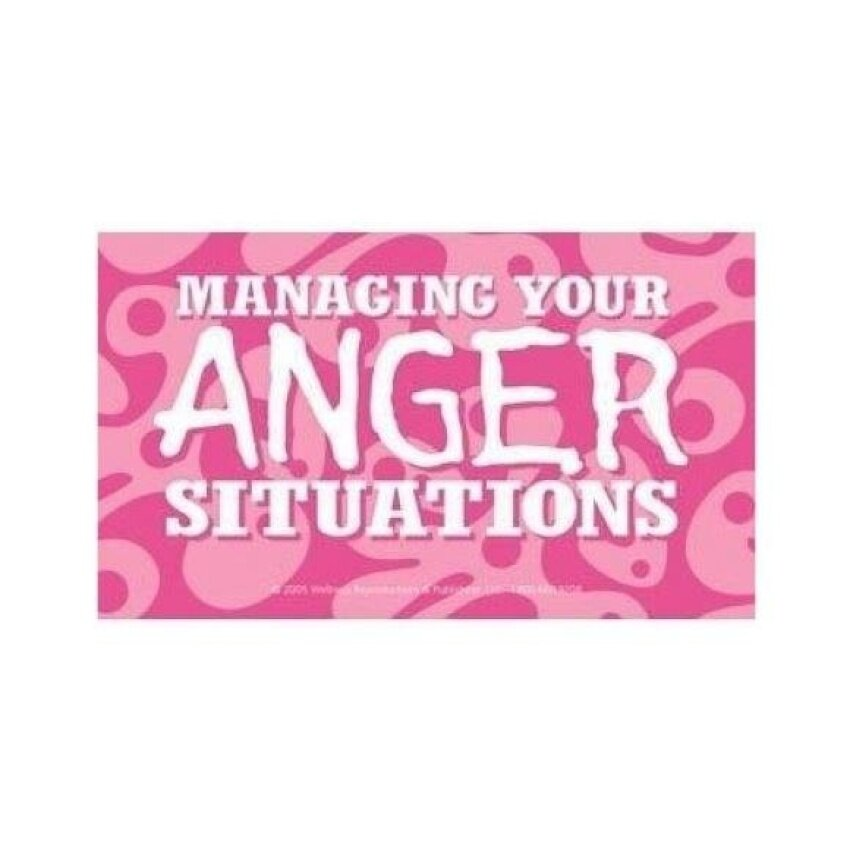 Managing Your Anger Situations Cards High School - intl