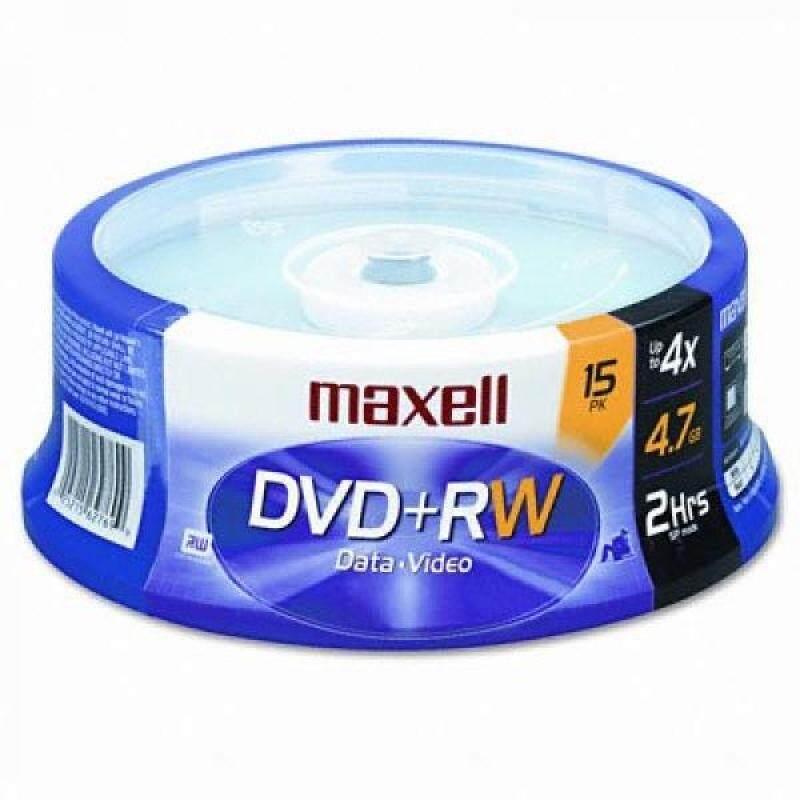 MAX634046 - Maxell DVDRW Discs - intl