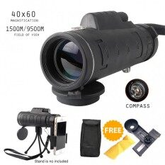 Maxgear Mini Lightweight Monocular Binoculars Telescope Lens 40x60 + Phone Holder By Prado Mall.