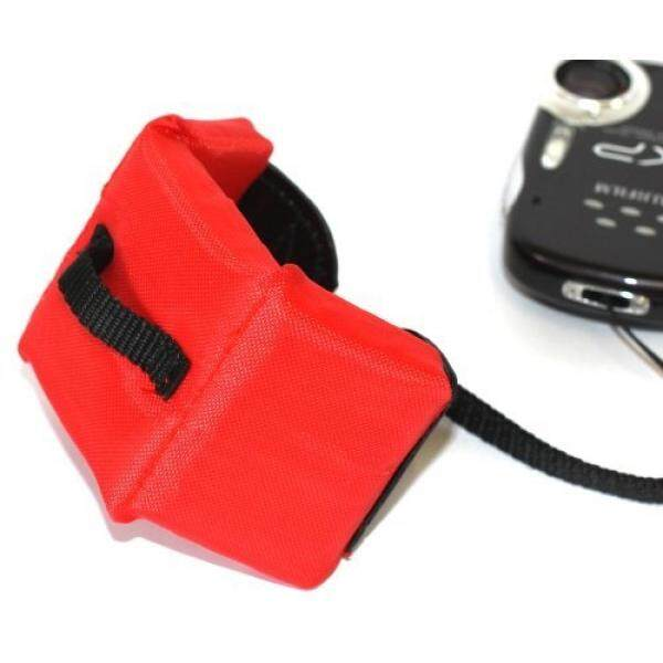 Maxsimafoto - Red Floating strap for waterproof cameras, Canon D20, D10, Nikon AW100, AW110, Sony Cybershot TX10, TX20, Panasonic Lumix DMC-FT4, Olympus ? (mju:) Tough TG-610, FUJIFILM FinePix XP10, XP20, XP30, XP150, Pentax Optio WG-1, WG-2, WG-3. - intl