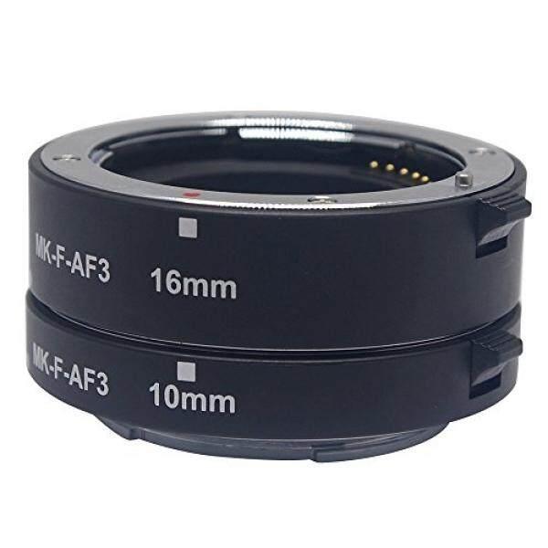 Mcoplus mk-f-af3 Makro Metall Automatik Focus AF EXTENSION TUBE SET 10 mm 16 mm f?r Fujifilm xpro2 XT1 XA2 XE2 xe2s X70 XE1 X30 X70 XM1 XA1 XPro1 - intl