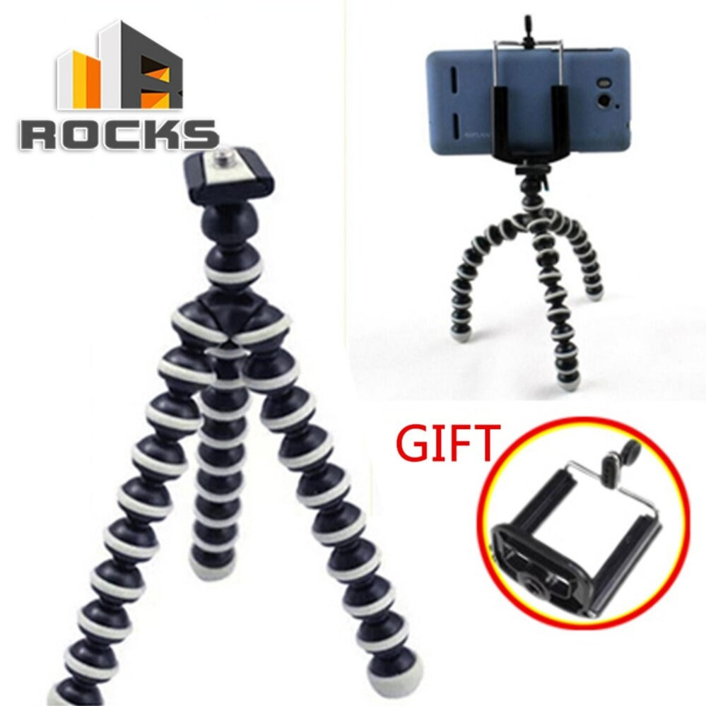 Buy Sell Cheapest Gorilla Pod Medium Best Quality Product Deals Tripod Gorila M Octopus Flexible Stand For Iphone Camera Sport Camcorder Video With Phone Clip