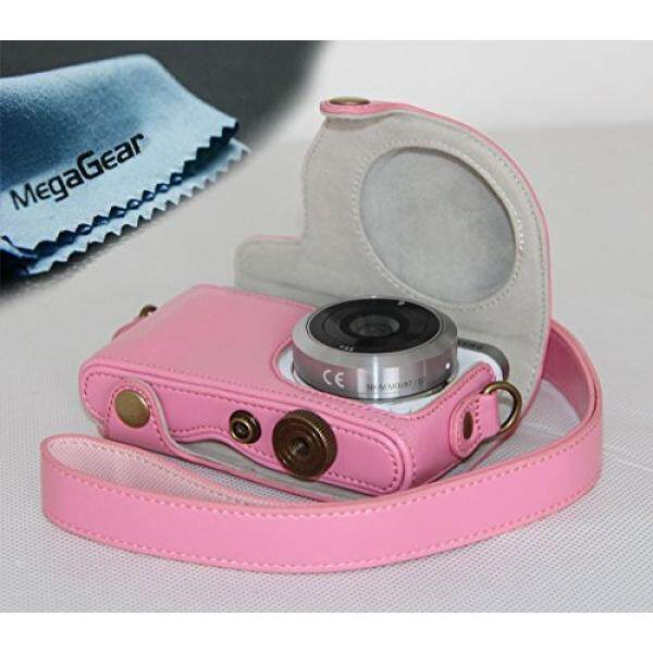 """MegaGear """"Ever Ready"""" Protective Leather Camera Case, Bag for Samsung NX Mini with"""