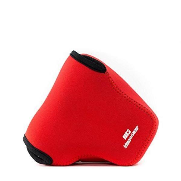 Megagear Ultra Ringan Sarung Kamera Neoprene Tas dengan Carabiner untuk Canon PowerShot G3 X G3X Digital Camera (Merah)-Intl