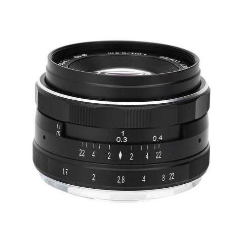 Meike 35mm F/1.7 Fixed Manual Focus Multi-coated Camera Lens for Nikon Mirrorless Cameras 4