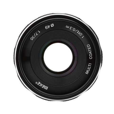 Meike 35mm F/1.7 Fixed Manual Focus Multi-coated Camera Lens for Nikon Mirrorless Cameras 2