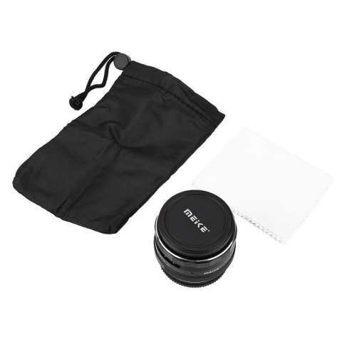 Meike 35mm F/1.7 Fixed Manual Focus Multi-coated Camera Lens for Nikon Mirrorless Cameras 1