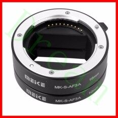 Meike Mk-S-Af3a Metal Auto Focus Macro Extension Tube Adapter Ring (10mm+16mm )for So Ny Mirrorless E/fe-Mount A7 Nex E-Mount Camera A7 A7m2 Nex3 Nex5 Nex6 Nex7 A5000 A5100 A6000 A6300 A6500 Etc By Dream With You.