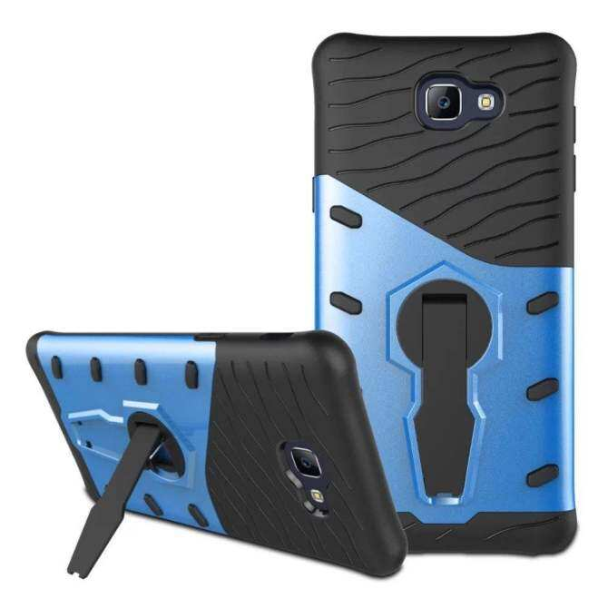Shockproof Tough Rugged Dual-layer Case Cover dengan Built-in .
