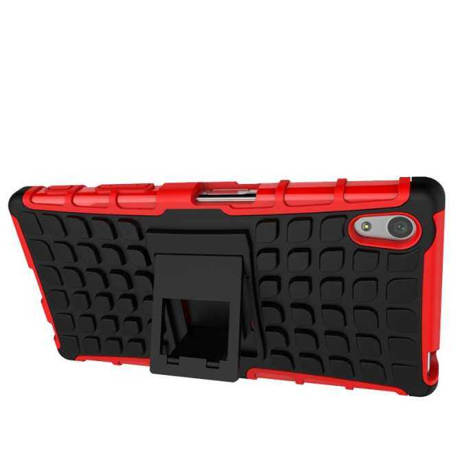 ... Meishengkai Case For Sony Xperia Z5 Detachable 2 in 1 Shockproof Tough Rugged Prevent Slipping Dual ...