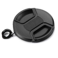 Meking 58mm Camera Snap-On Lens Cap Cover With Cord For Canon Nikon Dslr Lens By Mkstudio.