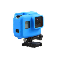 Meking Silicone Cover Soft Case Protective Housing Case for GoPro Hero 5 Black Edition Sport Action Camera (Blue)