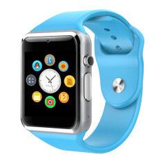 Pria Wanita Gelang Bluetooth Jam Tangan Pintar untuk iPhone dan Android Ponsel Smartwatch