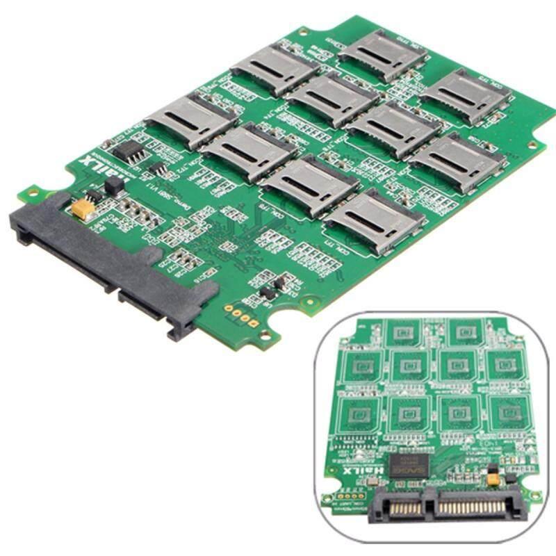 Bảng giá Micro SD TF Memory Card to SATA SSD Adapter RAID Hard Disk Converter For PC Phong Vũ