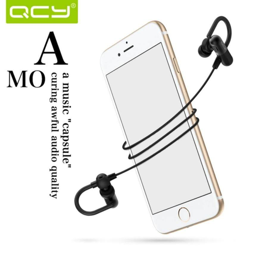 Headphone Mikrofon Stereo Hai Fi Bluetooth Headphone QCY QY11V4.1 Nirkabel Kebisingan
