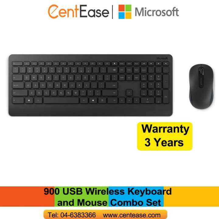 microsoft 900 usb wireless keyboard and mouse combo set lazada. Black Bedroom Furniture Sets. Home Design Ideas