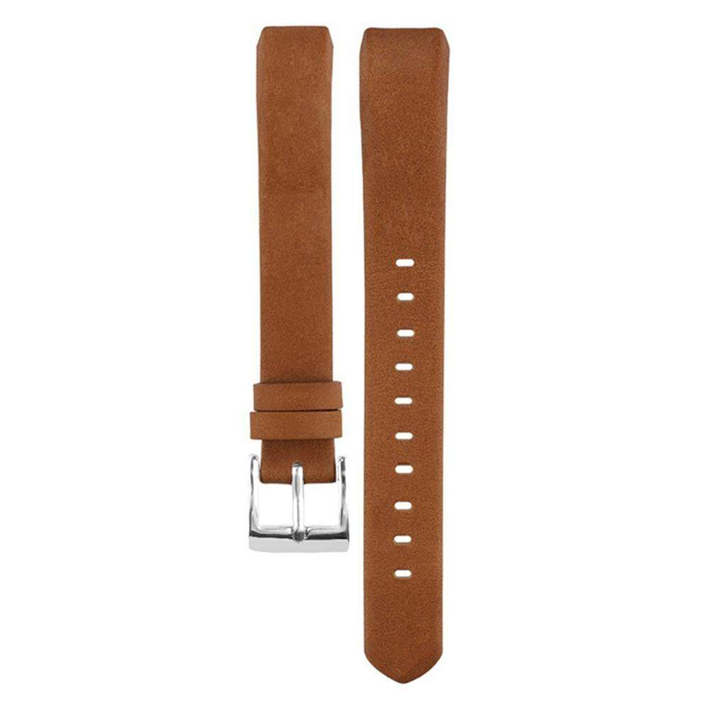 Cheapest Miimall Leather Replacement Band For Fitbit Alta Alta Hr Brown Intl Online