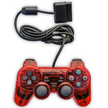 Miimall Wired Game Gaming Controller for PS2 (Red)