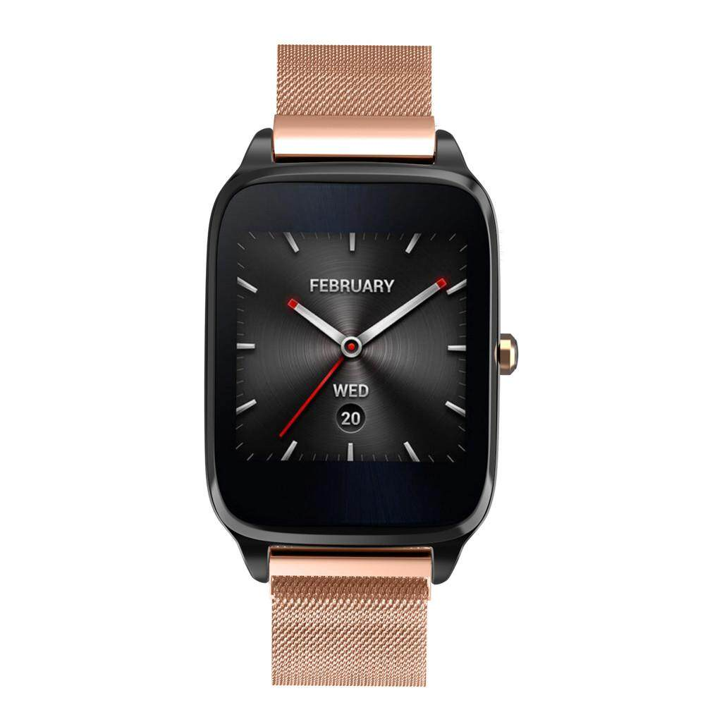 Compare Milanese Magnetic Loop Stainless Steel Band Strap Bracelet For Asus Zenwatch 2Bk Intl