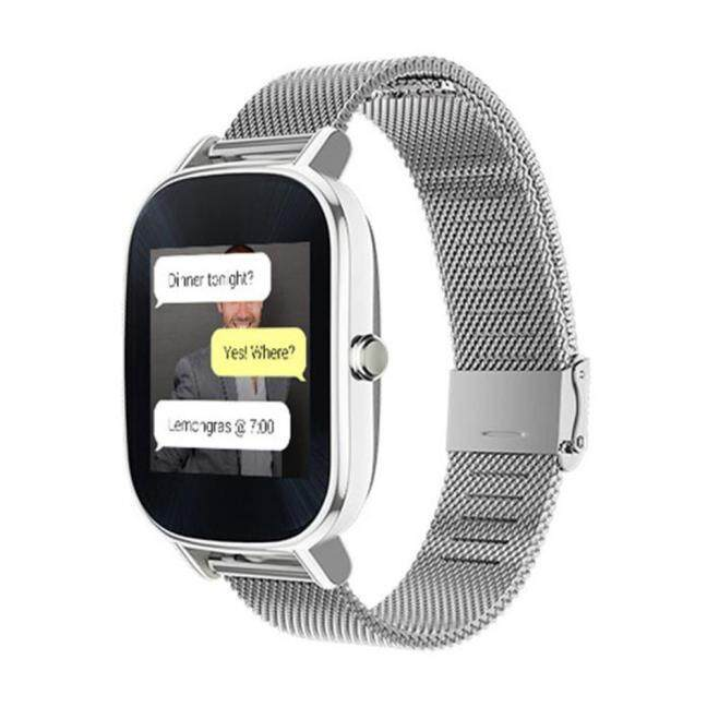 Best Offer Milanese Stainless Steel Quick Release Watch Band Strap For Asus Zenwatch 2 Sl Intl